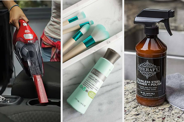 40 Cleaning Products You Can Get On Amazon That People Actually Swear By