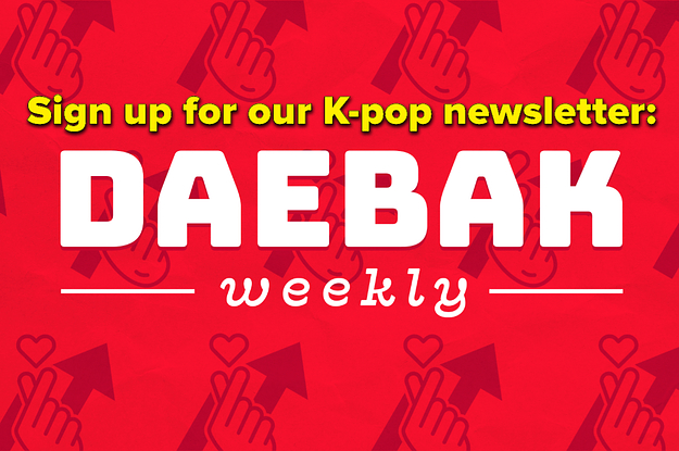 """Need Your K-Pop Fix? Sign Up For Our """"Daebak Weekly"""" Newsletter!"""