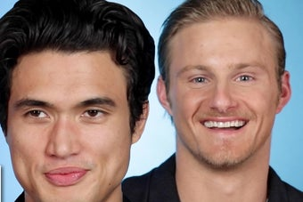 Charles Melton And Alexander Ludwig Read Your Thirst Tweets — So Don't Say We Never Gave You Anything