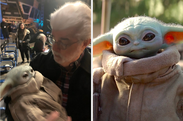 This Viral Photo Of George Lucas Holding ...