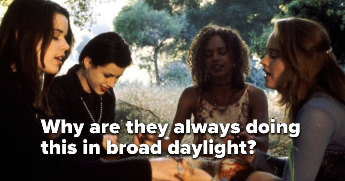 """I Had Never Seen """"The Craft,"""" So I Watched It And Now I Have Lots Of Questions"""