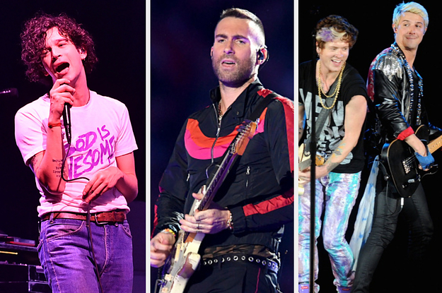 A Twitter Fight Between The 1975, Maroon 5, ...