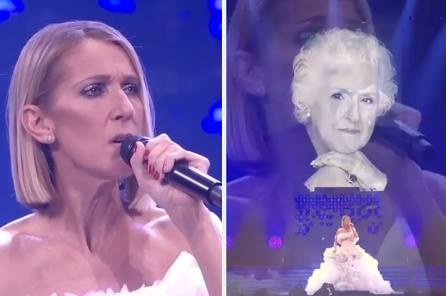 Céline Dion Sang A Moving Tribute To Her Mother, Who Died Last Week