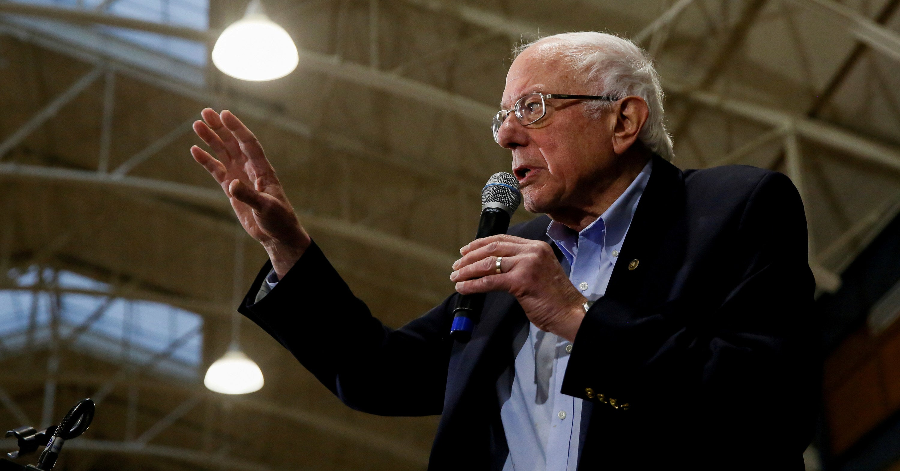 "Bernie Sanders Said ""Everybody Brings Some Negatives"" When Asked If Gender Is An Obstacle For Women Running For Office"