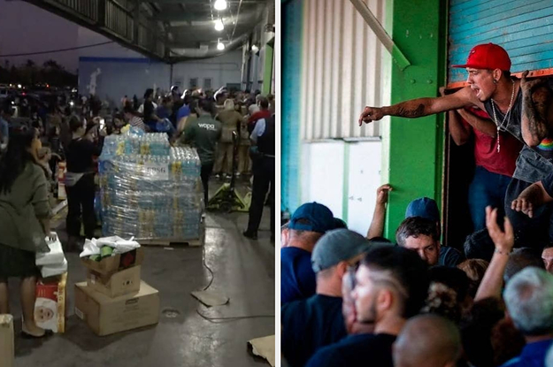 People In Puerto Rico Are Demanding Answers After A Warehouse Full Of Unused Emergency Supplies Was Discovered