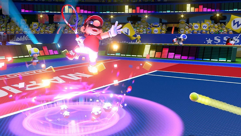 a screen shot of mario tennis
