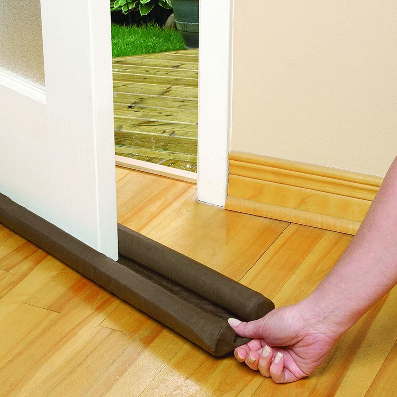 An insert that slides underneath a door