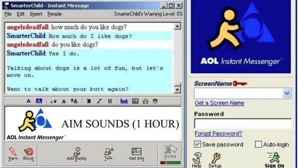 aim chat window
