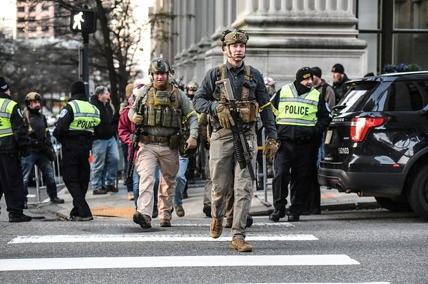Thousands Of People Have Showed Up In Richmond For A Pro-Gun Rally Authorities Fear May Turn Violent