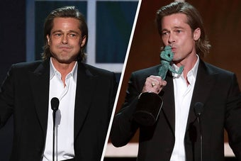 Brad Pitt Joked About His Divorce In His SAG Awards Acceptance Speech And It Was Impossible Not To Laugh