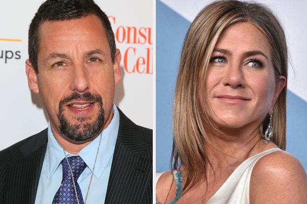 Jennifer Aniston Addressed Adam Sandlers Oscar Snub In Her SAG Acceptance Speech