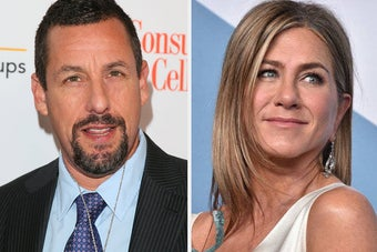 Jennifer Aniston Addressed Adam Sandler's Oscar Snub In Her SAG Acceptance Speech