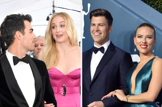 26 Couples At The SAG Awards That Prove Love Is Still Alive And Well