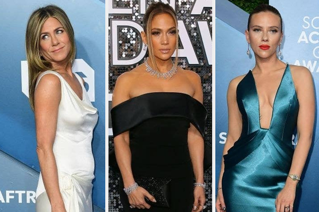 Heres What Everyone Wore To The SAG Awards Red Carpet