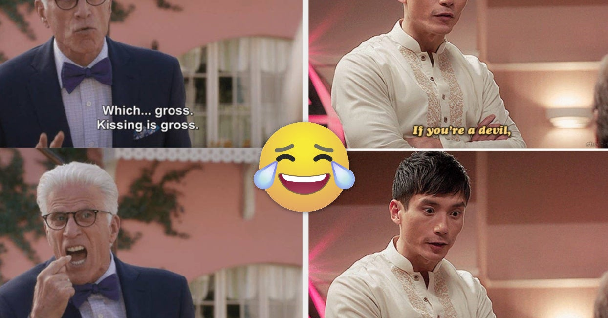 """34 """"The Good Place"""" Moments That Will Make You Laugh Until You Cry"""