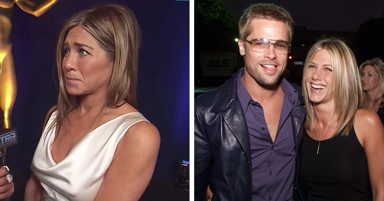 Jennifer Aniston Was Asked About Reuniting With Brad Pitt At The SAG Awards And Her Response Was Adorable