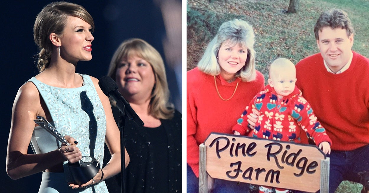 Taylor Swift Revealed Her Mom Andrea Was Diagnosed With A Brain Tumour
