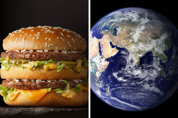 This Is The Price Of A McDonald's Big Mac In 21 Different Countries