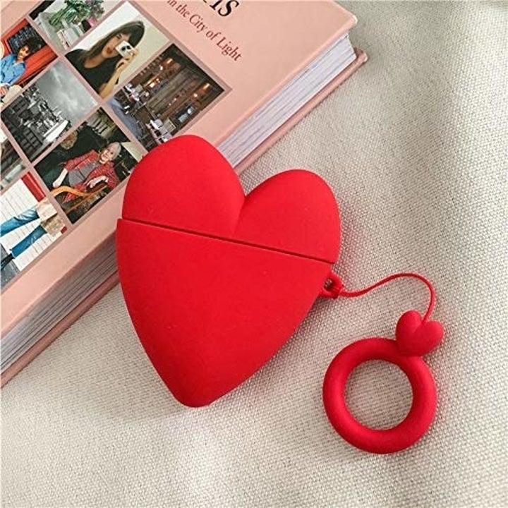 heart shaped airpod case