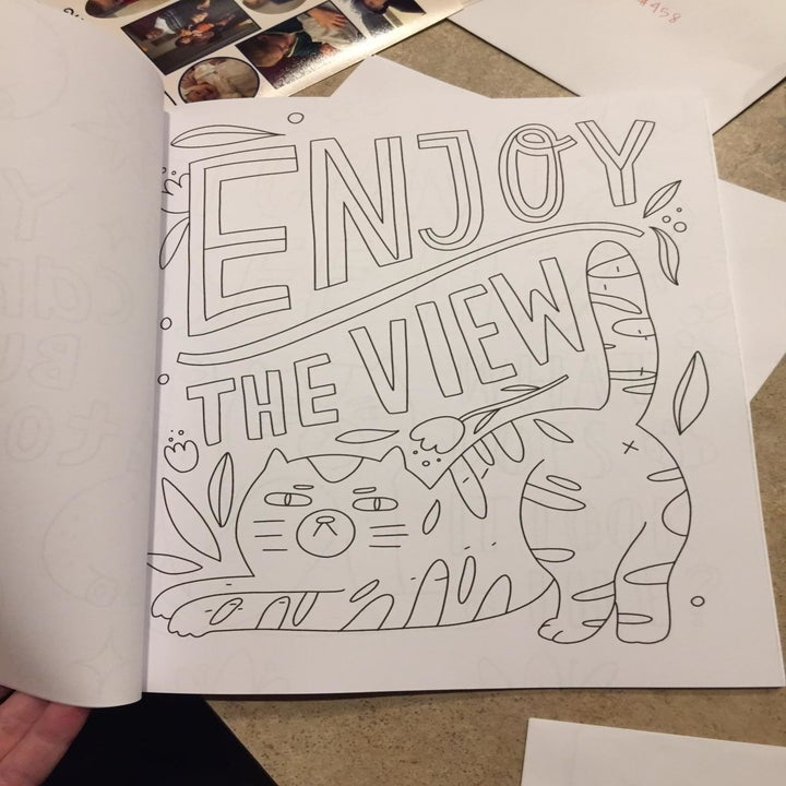 inside of the coloring book
