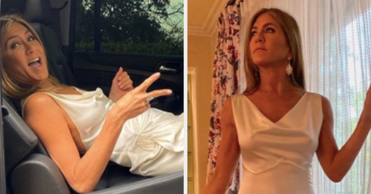 Jennifer Aniston Revealed How She Avoids Wrinkles On Her Red Carpet Dresses And Fellow Celebs Are Impressed