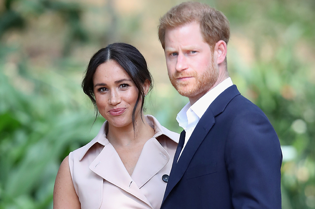 "Prince Harry Definitively Shut Down The Possibility Of ""The Crown"" Ever Depicting Him And Meghan Markle"