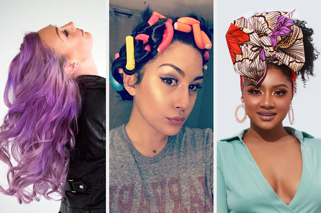 32 Things You Should Try If One Of Your 2020 Resolutions Is To Do More With Your Hair