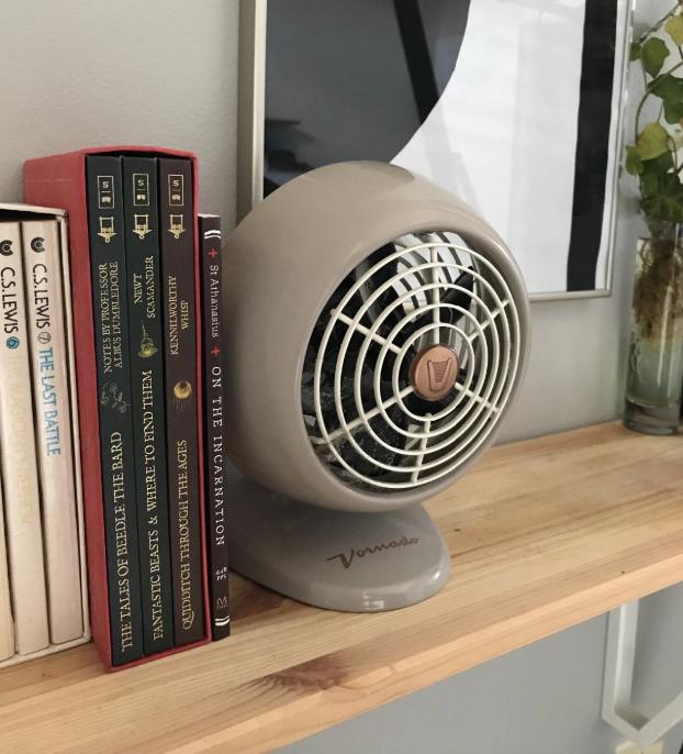 A reviewer's fan