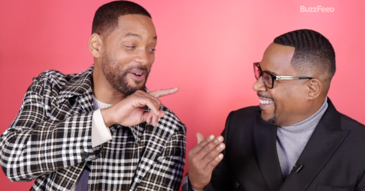 """Will Smith And Martin Lawrence Took A """"Bad Boys For Life""""–Inspired Quiz To Find Out If They're Bad Boys Offscreen Too"""