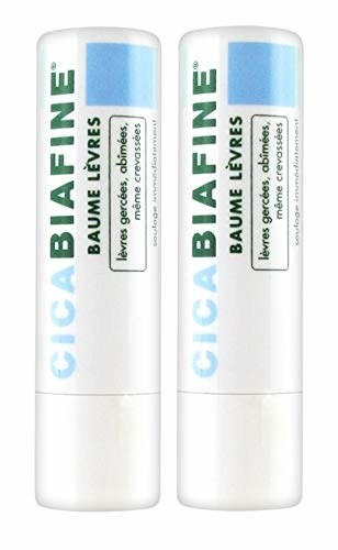 Two tubes of CicaBiafine Lip Balm
