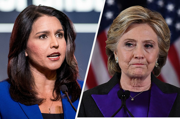 """Tulsi Gabbard Sued Hillary Clinton For Defamation Over Her """"Russian Asset"""" Comment"""