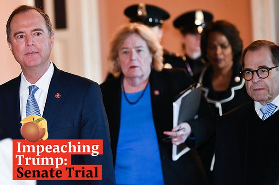 Watch Live: Democrats Begin Presenting Their Case In Trump's Impeachment Trial