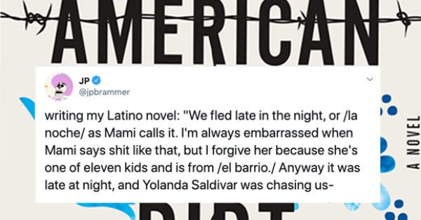 """People Are Calling Out """"American Dirt"""" With This Meme"""
