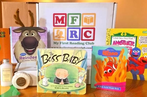 An array of books for toddler's and young children
