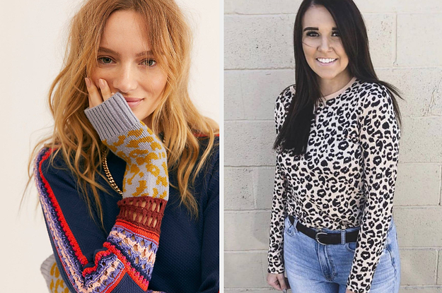 41 Cute And Warm Tops For Anyone Who's Sick Of Sweaters