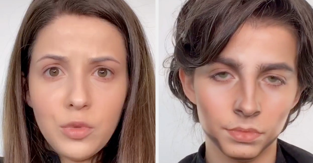 This Makeup Artist Transformed Herself Into Timothée Chalamet And It's So Good It Looks Like A Prank