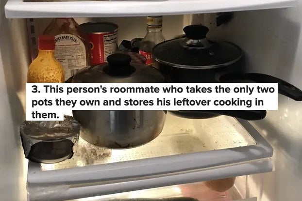 17 Roommates Who Should Immediately Be Inducted Into The Bad Roommate Hall Of Fame