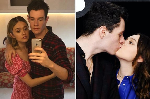 """Sex Education"" Stars Aimee Lou Wood And Connor Swindells Are Dating IRL And I Support This Message"
