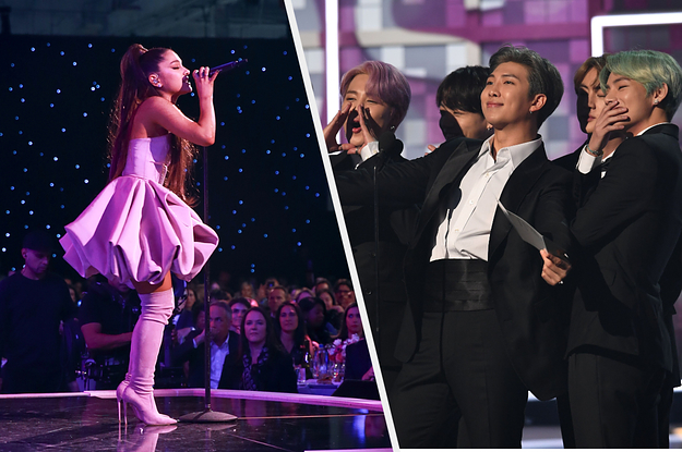 Ariana Grande Hung Out With BTS ...