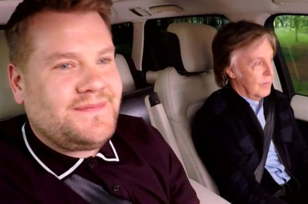 James Corden Has Been Exposed In A Viral Tweet That Shows He Does Not Actually Drive The Carpool Karaoke Car