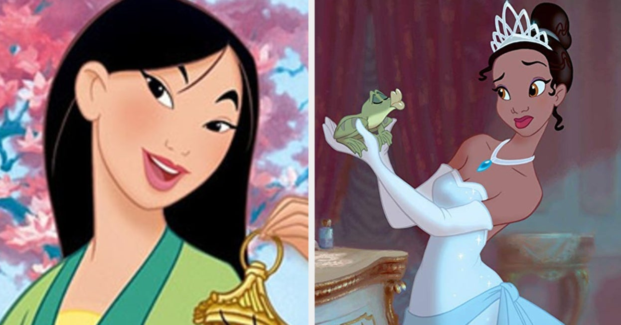 Eat Food In Every Color And We'll Tell You Which Disney Princess You Are