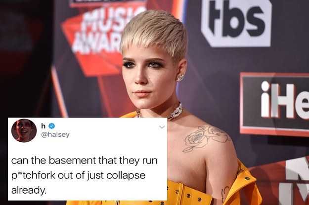 Halsey Accidentally Tweeted A Terrible 9/11 Joke And People Called Her Out