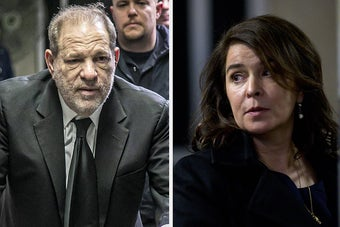 Harvey Weinstein's Lawyer Played Up Old Myths About Rape While Questioning The Case's Star Witness, Annabella Sciorra