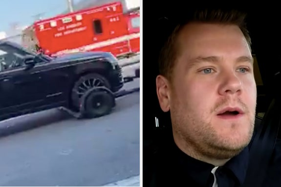 "Turns Out James Corden Isn't Always Actually Driving In ""Carpool Karaoke"""