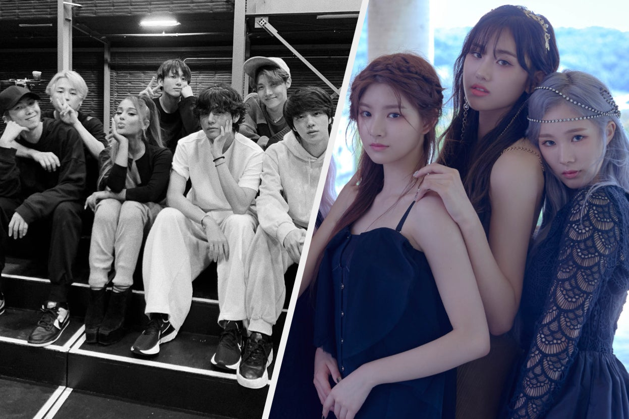 BTS Hung Out With Ariana Grande And Five Other K-Pop Headlines You Need To Read This Week