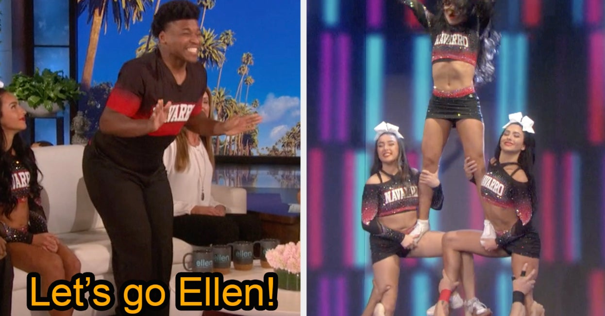 "The Navarro ""Cheer"" Team Performed On ""Ellen"" Today And They Were Amazing"