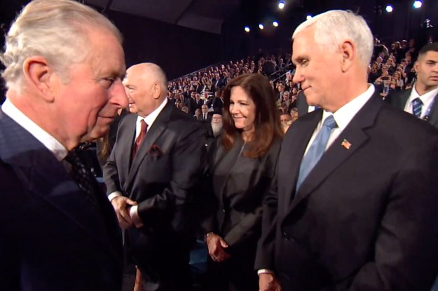Did Prince Charles Snub Mike Pence At ...