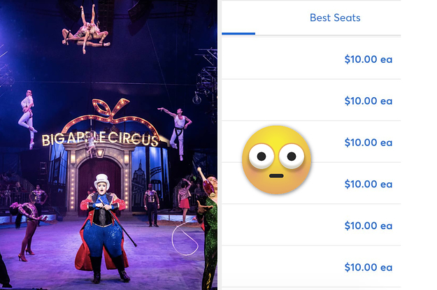 PSA: Big Apple Circus Tickets In NYC ...