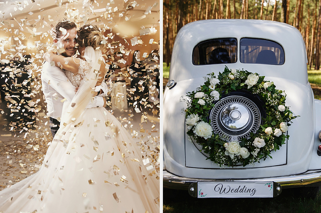 What One Tiny Detail Made Your Wedding Day Even More Special?