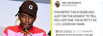 Tyler The Creator Responds To Tweet After Grammys Win